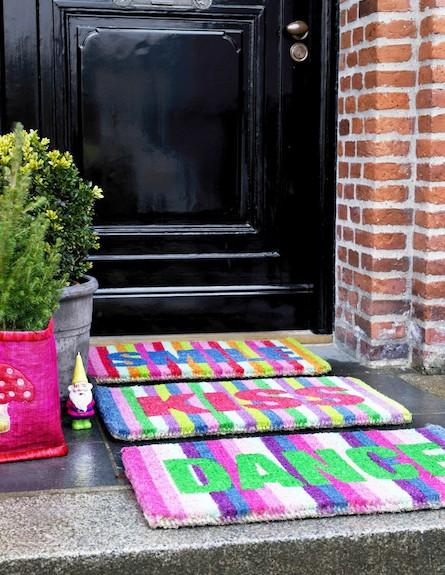מתנות לחג- שטיח אביבי צבעוני (צילום: יחסי ציבור)
