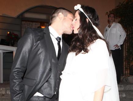 חתונה איגי ועתי - לגודל החדש (צילום: ראובן שניידר  ,mako)
