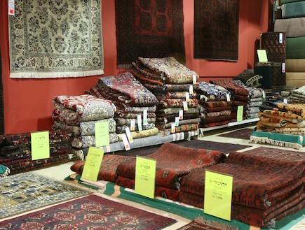 רשת כרמל שטיחים ופרקט, חנות עודפים (1)