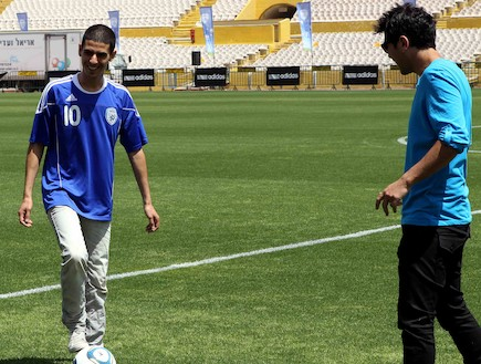 קותי סבג, ההתאחדות לכדורגל 2012 (צילום: עודד קרני ,mako)