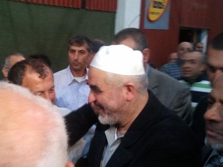 חזר לישראל - ראאד סלאח (צילום: חדשות 2)