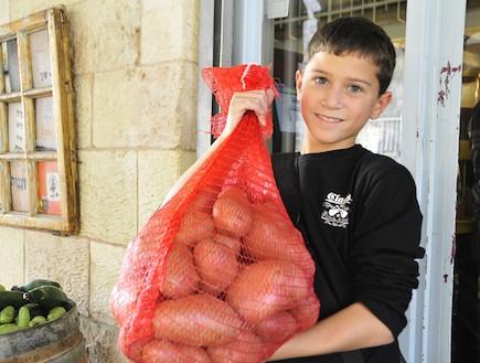 עירד אבני בשוק מחנה יהודה