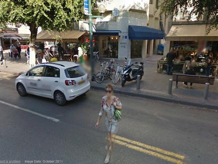 גוגל סטריט וויו בישראל (דיזנגוף)