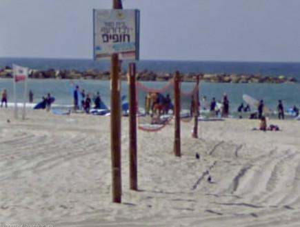 גוגל סטריט וויו בישראל (חוף גורדון)