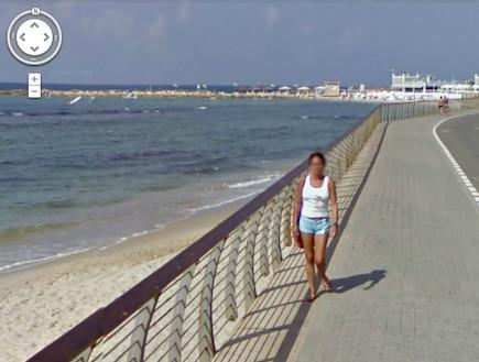 גוגל סטריט וויו בישראל (חוף הילטון)