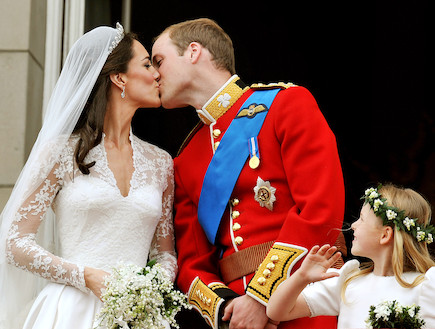 וויל וקייט יום נישואי (צילום: אימג'בנק/GettyImages ,getty images)