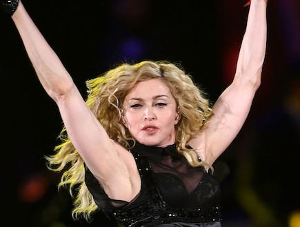 מדונה בהופעה 2012 (צילום: אימג'בנק/GettyImages ,getty images)