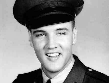 אלביס פרסלי (צילום: צבא ארצות הברית)
