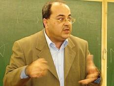 אחמד טיבי בקמפוס גבעת רם של האוניברסיטה העברית