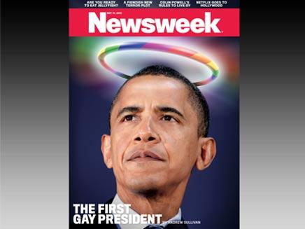 """תמונת השער שמסעירה את ארה""""ב (צילום: newsweek)"""
