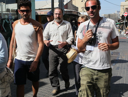 כוכבי הומלנד בישראל פפראצי