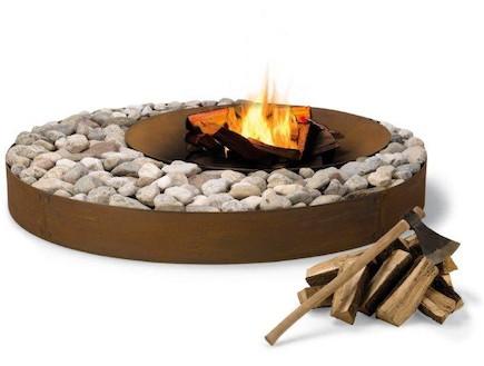 עיצוב אש, מקום להבערת מדורה