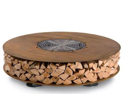 עיצוב אש, מקום לאחסון עצים
