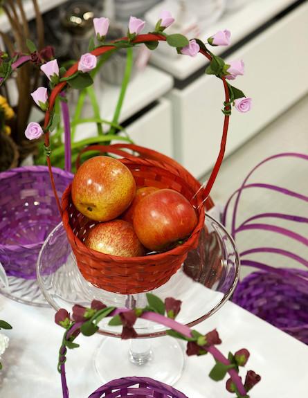 שולחנות חג שבועות, טנא תפוחים של הילולה