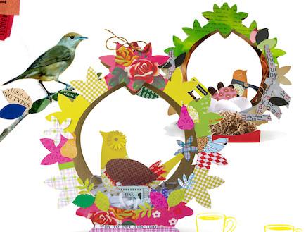 שולחנות חג שבועות, ציפורים מנייר של אורה אפשטיין