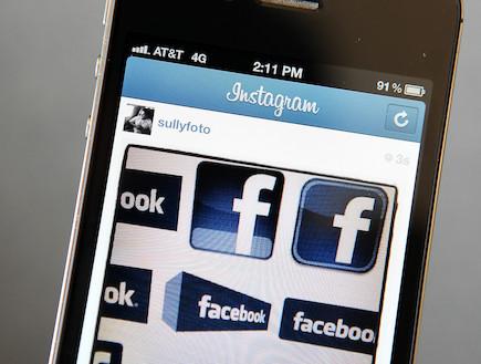 תמונות של פייסבוק באינסטגרם(getty images)