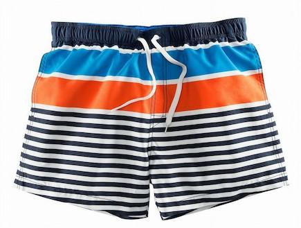 H&M מכנסיים קצרים עם פסים