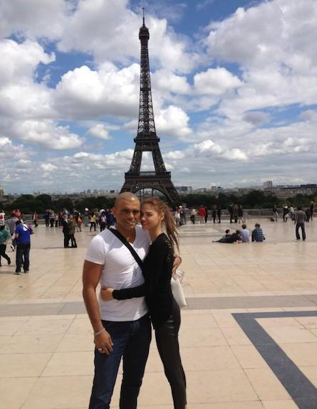 אייל גולן ורוסלנה רודינה בפריז