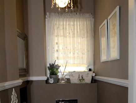 חדר שירותים משופץ (צילום: צילום ביתי)