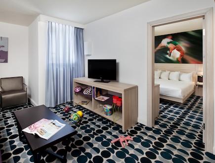 מלון ספורט חדר 2-ישרוטל ספורט קלאב