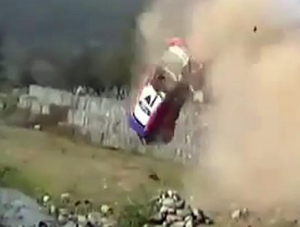 תאונה בראלי ארגנטינה (צילום: יוטיוב )