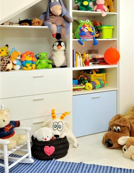 אחסון צעצועים