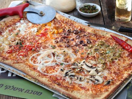 מדריך להכנת פיצה: פיצה מוכנה