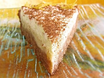 טארט שוקולד לבן (צילום: דליה מאיר ,קסמים מתוקים)
