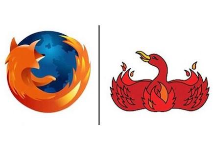 הלוגו של פיירפוקס ופיניקס