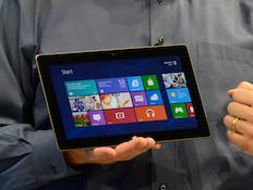 Surface, הטאבלט של מיקרוסופט (צילום: getty images ועודד קרני)