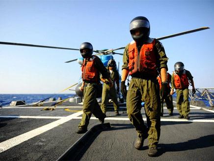 אימון חיל הים (צילום: חיל הים)