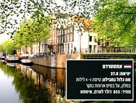 חבילה לאמסטרדם