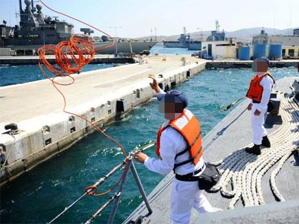 תרגיל חיל הים ביוון (צילום: פייסבוק)