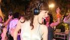 מסיבת אוזניות בחתונה של WI:PARTY (צילום: תות-בננה)