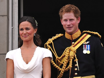 פיפה מידלטון והנסיך הארי (צילום: getty images ,getty images)