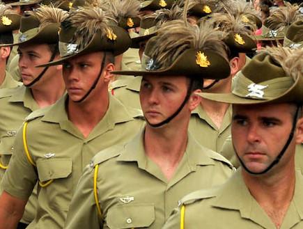 קורס קצינים באוסטרליה