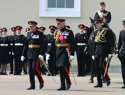 קורס קצינים בבריטניה