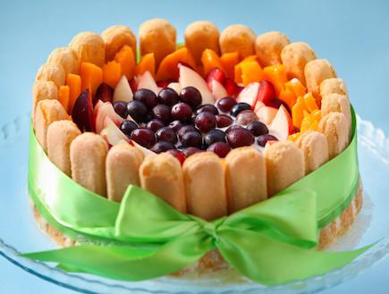 עוגת שרלוט (צילום: בני גם זו לטובה ,אוכל טוב)