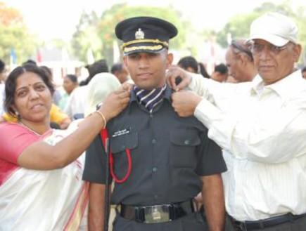 קורס קצינים בהודו