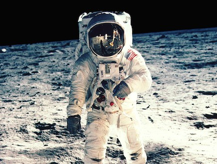 משימת אפולו 11 (צילום: nasa.gov)