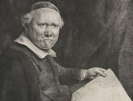 תחריט של רמברנט משנת 1658