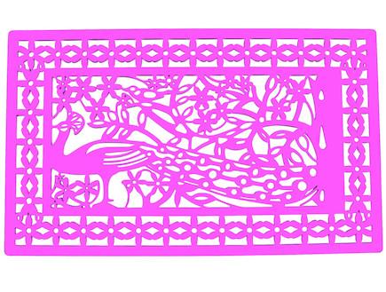 כניסות לבית. שטיח כניסה פלסטי של סופי עיצובים