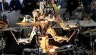 רובוט מתופף (צילום: מתוך youtube)