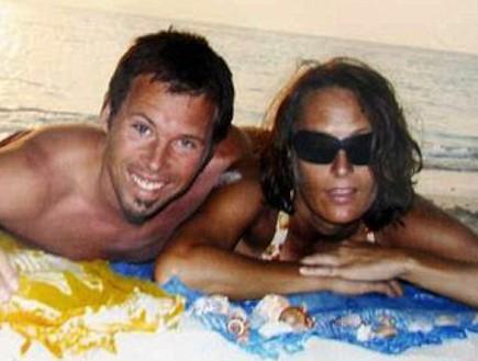 דניאלה וייס ודניאל אולטר (צילום: dailymail.co.uk)