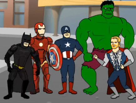 batman vs. the avengers