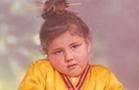 מיכל צפיר בילדותה (צילום: צילום ביתי ,mako)