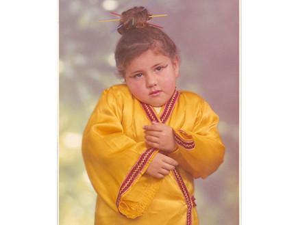 מיכל צפיר בילדותה (צילום: תומר ושחר צלמים ,mako)