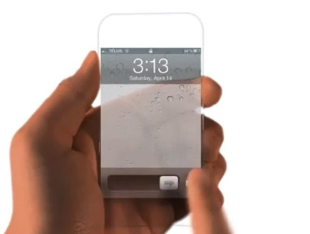 קונספט של אייפון 5 (צילום: יוטיוב )
