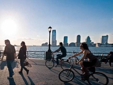 שכונת באטרי פארק, ניו יורק (צילום: gattyimages, טלי מחלב ,ויז'ואל gattyimages ישראל ,גלובס)