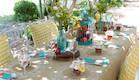 שולחן חג - כריות משובצות נעמי ונאוה (צילום: ליאור קסון)